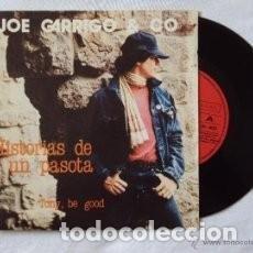 Discos de vinilo: JOE GARRIGO & CO LOS DOS SINGLES,MOVIDA BARCELONA ,CARLOS SEGARRA,HISTORIAS DE UN PASOTA,MARCHA FRES. Lote 127470515