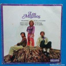 Discos de vinilo: MISMOS - MIL AMORES + 3,. Lote 127479751