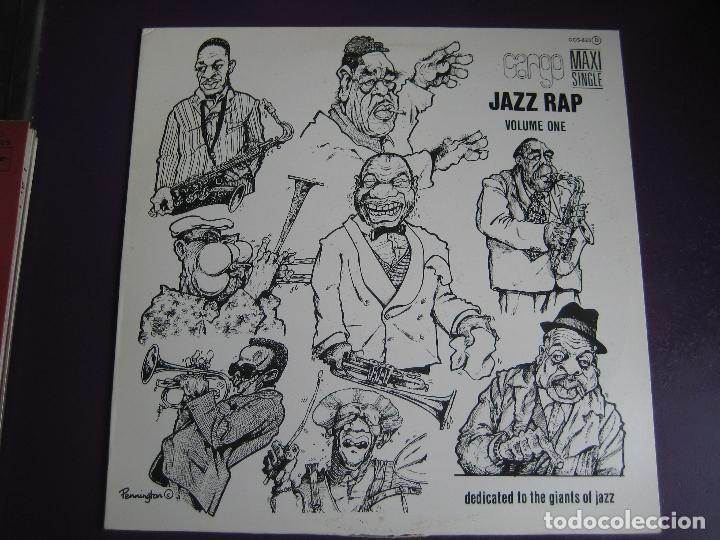 CARGO MAXI SINGLE SERDISCO 1986 - JAZZ RAP VOLUMEN 1 - HIP HOP (Música - Discos de Vinilo - Maxi Singles - Rap / Hip Hop)