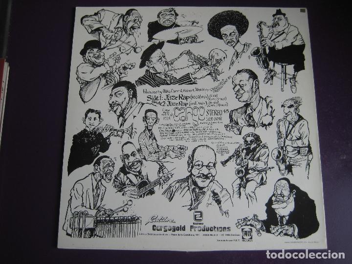 Discos de vinilo: CARGO MAXI SINGLE SERDISCO 1986 - JAZZ RAP VOLUMEN 1 - HIP HOP - Foto 2 - 127486603