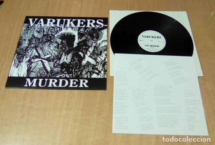 VARUKERS - MUERDER (LP EDICIÓN ACTUAL, INCLUYE ENCARTE, WE BITE RECORDS WB-1-165-1) NUEVO (Música - Discos - LP Vinilo - Punk - Hard Core)