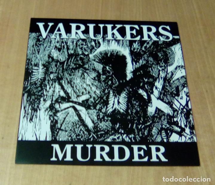 Discos de vinilo: VARUKERS - Muerder (LP edición actual, incluye encarte, We Bite Records WB-1-165-1) NUEVO - Foto 2 - 261330160
