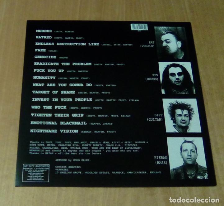 Discos de vinilo: VARUKERS - Muerder (LP edición actual, incluye encarte, We Bite Records WB-1-165-1) NUEVO - Foto 3 - 261330160