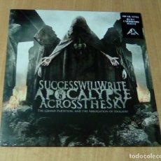 Discos de vinilo: SUCCESS WILL WRITE APOCALYPSE ACROSS THE SKY - THE GRAND PARTITION... (LP 2009) PRECINTADO. Lote 127487659
