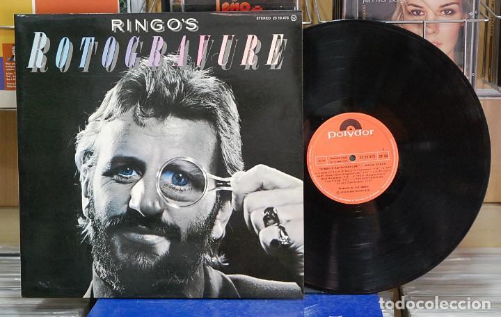 RINGO STARR. RINGO'S ROTOGRAVURE. POLYDOR 1976, REF. 23 10 473. LP (Música - Discos - LP Vinilo - Pop - Rock - Extranjero de los 70)