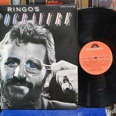 Discos de vinilo: RINGO STARR. RINGO'S ROTOGRAVURE. POLYDOR 1976, REF. 23 10 473. LP. Lote 127488071