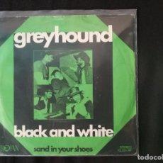 Discos de vinilo: GREYHOUND-BLACK AND WHITE. Lote 127489651