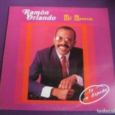 Discos de vinilo: RAMON ORLANDO LP KIRIDIS 1991 - MIL MANERAS - FUNK SOUL LATIN MERENGUE. Lote 297027533