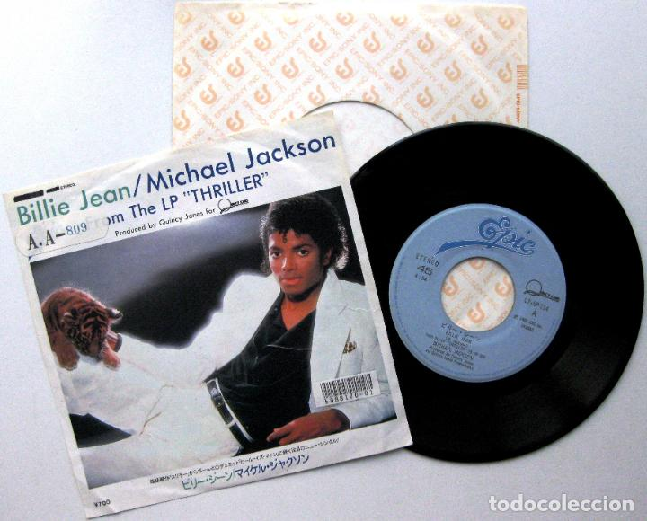 Discos de vinilo: Michael Jackson - Billie Jean - Single Epic 1983 Japan (Edición Japonesa) BPY - Foto 1 - 127497147