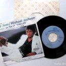 Discos de vinilo: MICHAEL JACKSON - BILLIE JEAN - SINGLE EPIC 1983 JAPAN (EDICIÓN JAPONESA) BPY. Lote 127497147