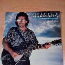 Discos de vinilo: GEORGE HARRISON - LP NINE CLOUD - BUEN ESTADO - VER FOTOS. Lote 127498359