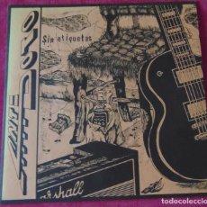 Discos de vinilo: ANTIDOTO - SIN ETIQUETAS - LP HARD ROCK HEAVY METAL 1993. Lote 127500651