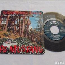 Discos de vinilo: LOS MUSTANG - FESTIVAL SANREMO 1965 . Lote 127501199