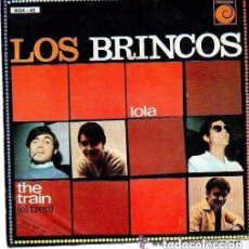Discos de vinilo: LOS BRINCOS, LOLA, SINGLE NOVOLA 1967. Lote 127504847