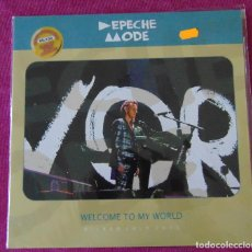 Discos de vinilo: DEPECHE MODE - WELCOME TO MY WORLD - LP LIVE BILBAO 2013 -ED- LIMITADA. Lote 127508039