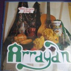 Discos de vinilo: ARRAYAN LP HORUS 1986 - COMO UN CUENTO DE HADAS - SEVILLANAS . Lote 127511831