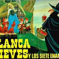 Discos de vinilo: MINI LP BLANCANIEVES CARA A - CAPERUCITA ROJA CARA B - 1967- REGALO DE OTRO DISCO DE BLANCA NIEVES. Lote 127515591