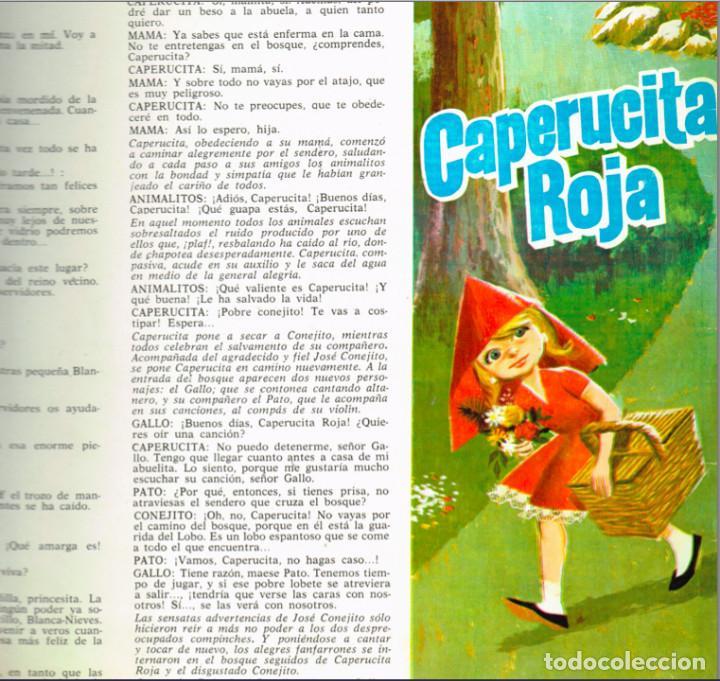 Discos de vinilo: MINI LP BLANCANIEVES CARA A - CAPERUCITA ROJA CARA B - 1967- Regalo de otro disco de Blanca Nieves - Foto 2 - 127515591
