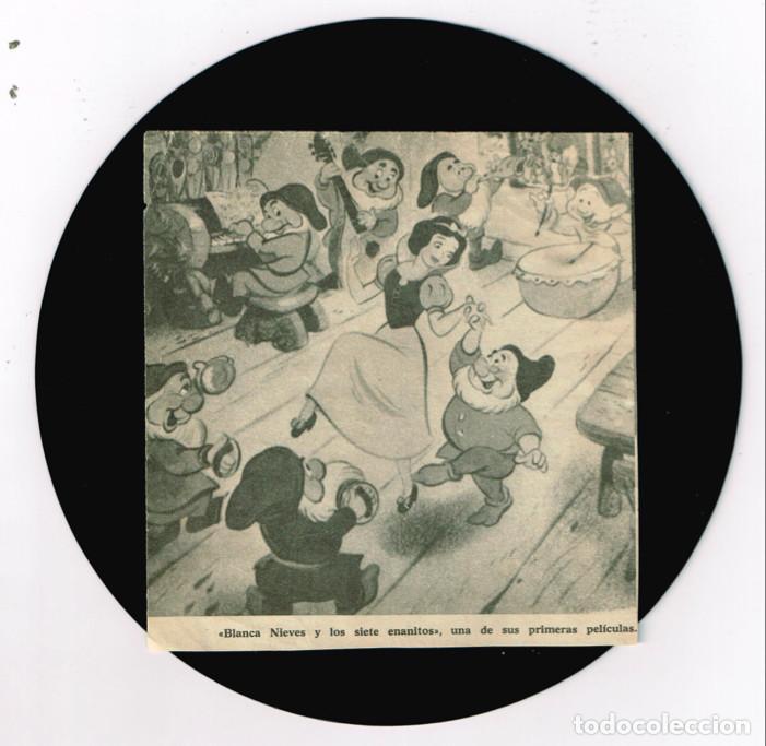 Discos de vinilo: MINI LP BLANCANIEVES CARA A - CAPERUCITA ROJA CARA B - 1967- Regalo de otro disco de Blanca Nieves - Foto 5 - 127515591