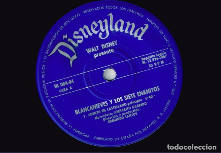 Discos de vinilo: MINI LP BLANCANIEVES CARA A - CAPERUCITA ROJA CARA B - 1967- Regalo de otro disco de Blanca Nieves - Foto 7 - 127515591