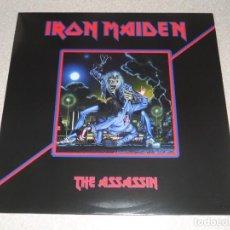 Discos de vinilo: IRON MAIDEN ?– THE ASSASSIN LP MEGADETH METALLICA SAXON DORO DIO SCORPIONS . Lote 127520315