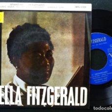 Discos de vinilo: ELLA FITZGERALD, STARDUST, DESAFINADO, SIGNING OFF 1. Lote 127521295