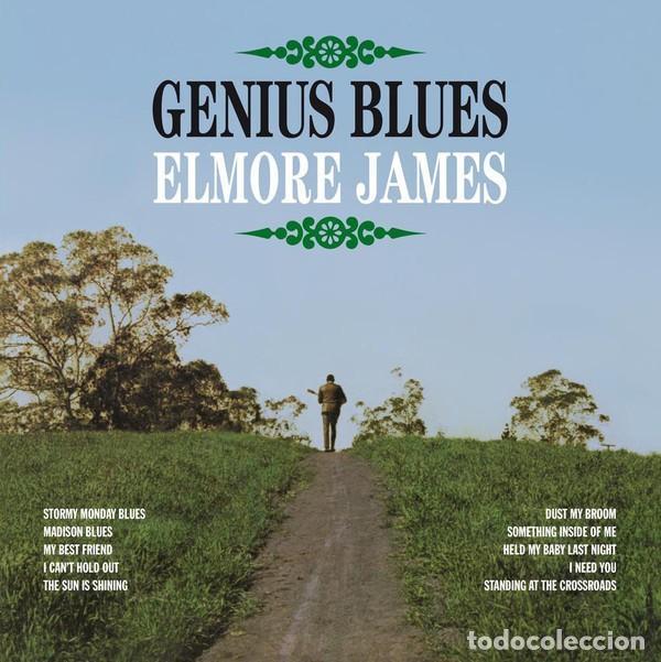 ELMORE JAMES * LP HQ VIRGIN VINYL 140G * GENIUS BLUES * RARE * LTD PRECINTADO!! (Música - Discos - LP Vinilo - Jazz, Jazz-Rock, Blues y R&B)