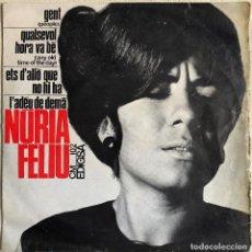 Discos de vinilo: NÚRIA FELIU - GENT. Lote 127550363