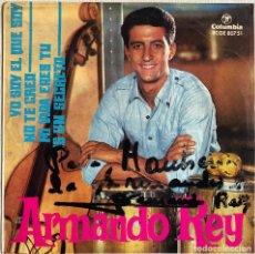 Discos de vinilo: ARMANDO REY - YO SOY EL QUE SOY. Lote 127551911