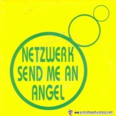 Discos de vinilo: NETZWERK - SEND ME AN ANGEL - SINGLE PROMO 93. Lote 127552887