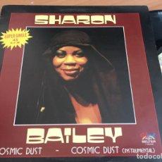 Discos de vinilo: SHARON BATLEY (COSMIC DUST) MAXI ESPAÑA 1982 (VIN-A4). Lote 127556671