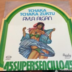 Discos de vinilo: AYLA ALGAN (TCHAKA TCHAKA XUKTU) MAXI ESPAÑA 1978 (VIN-A4). Lote 127556775
