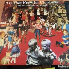 Discos de vinilo: BAND AID (DO THEY KNOW IT'S CHRISTMAS?) MAXI ESPAÑA 1985 (VIN-A5). Lote 127564539
