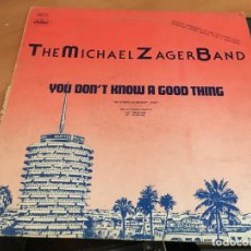 Discos de vinilo: MICHAEL ZAGER BAND CISSY HOUSTON MAXI ESPAÑA PROMO 1979 (VIN-A5). Lote 127566415
