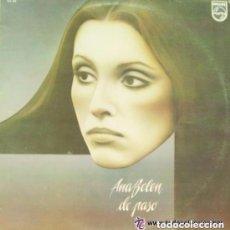 Discos de vinilo: ANA BELEN-DE PASO - LP - PHILIPS 1977 + ENCARTE CON LETRAS Y FOTO DE ANA BELEN EN EL INTERIOR. Lote 127569895