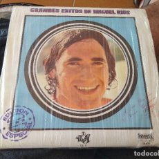Discos de vinilo: GRANDES ÉXITOS DE MIGUEL RÍOS CÍRCULO DE LECTORES 1970 VG++. Lote 127570315