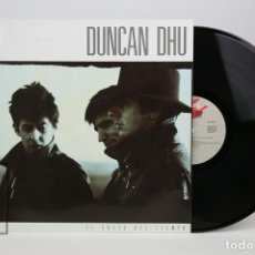 Discos de vinilo: DISCO LP DE VINILO - DUNCAN DHU / EL GRITO DEL TIEMPO - GRABACIONES ACCIDENTALES - AÑO 1987. Lote 127612871