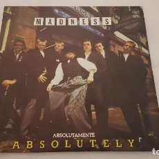 Discos de vinilo: LP - MADNESS /ABSOLUTELY / STIFF RECORDS TXS 3190 /1980 / PROMO. Lote 127617379