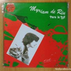 Discos de vinilo: MYRIAM DE RIU - PARA LA PAZ - MAXI. Lote 127629320