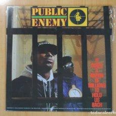 Discos de vinilo: PUBLIC ENEMY - IT TAKES A NATION OF MILLIONS TO HOLD US BACK - LP. Lote 127629642