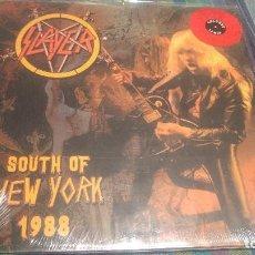 Discos de vinilo: SLAYER - SOUTH OF NEW YORK 1988 -. Lote 188863410