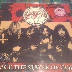 Discos de vinilo: SLAYER - FACE THE SLAYER OF GOD -. Lote 127640987