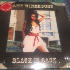 Discos de vinilo: AMY WINEHOUSE - BLACK IS BLACK -. Lote 127646455