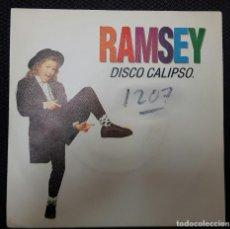 Discos de vinilo: RAMSEY FERRERO - DISCO CALIPSO - SINGLE PROMOCIONAL - ESPAÑA - 1992 - INFANTIL - INFANTILES. Lote 127647171