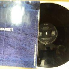 Discos de vinilo: EINSAMKEIT COMMANDING LANGUAGE METRONOME MUSIK HAMBURGO. Lote 127662595