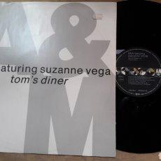 Discos de vinilo: DNA FEATURING SUZANNE VEGA TOM'S DINER. Lote 127663023