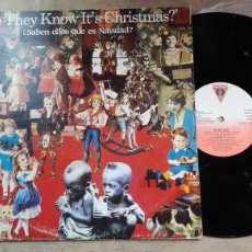 Discos de vinilo: DO THEY KNOW IT'S CHRISTMAS? BAND AID. Lote 127665024