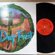 Discos de vinilo: DEEP FOREST DEEP FOREST. Lote 127665522