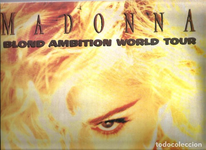 DOBLE LP MADONNA : BLOND AMBITION WORLD TOUR / JAPAN 1990 (Música - Discos - LP Vinilo - Pop - Rock - New Wave Internacional de los 80)