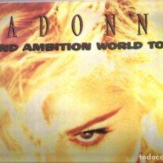 Discos de vinilo: DOBLE LP MADONNA : BLOND AMBITION WORLD TOUR / JAPAN 1990. Lote 127671067
